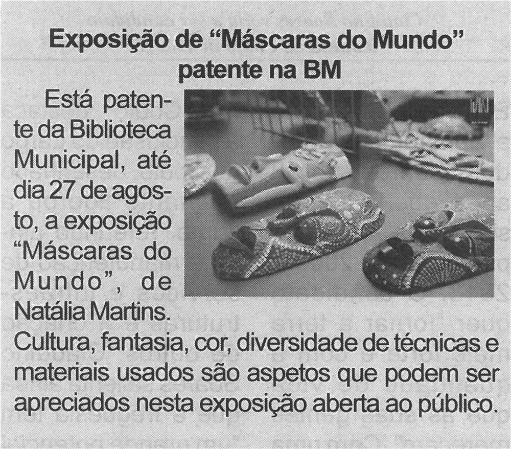 BV-2.ªjul.'21-p.6-Exposição de Máscaras do Mundo patente na BM.jpg