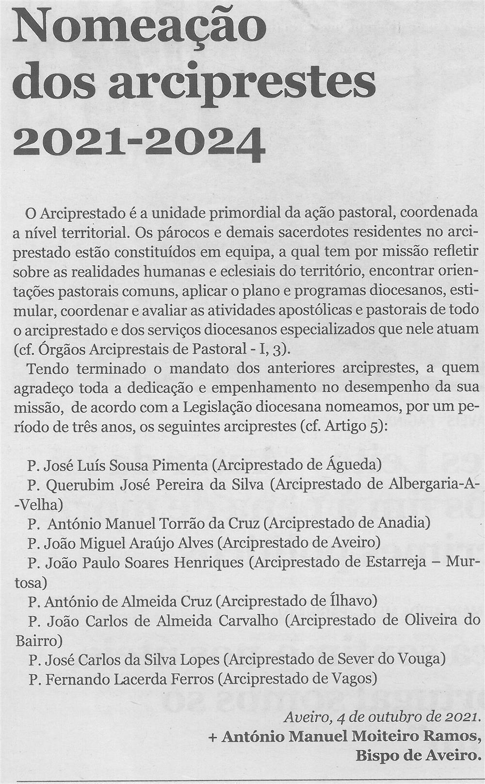 CV-Ano 91, n.º 4468 (06 out. '21), p. 2-Nomeação dos arciprestes 2021-2024.jpg