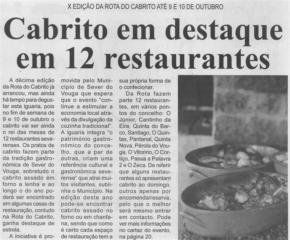 BV-Ano 59, n.º 1170 (1.ª quinzena out. 2021), p. 2-Cabrito em destaque em 12 restaurantes : X edição da Rota do Cabrito até 9 e 10 de outubro.jpg